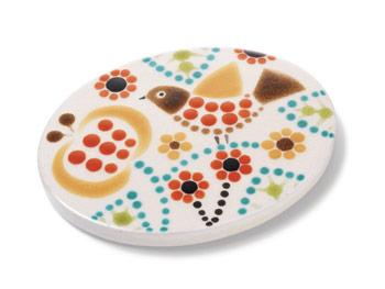 Bird pattern tile