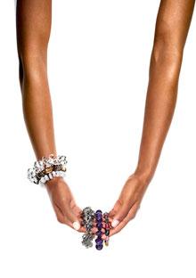 The new O bracelets