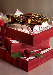 Dark Chocolate Bark with Pistachios