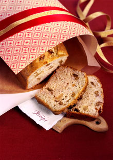 Apricot, Ginger, and Walnut Tea Bread