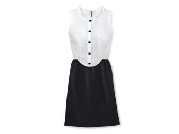 DKNY tuxedo dress