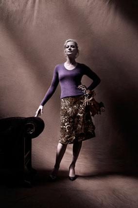 Gretchen Mol in Prada