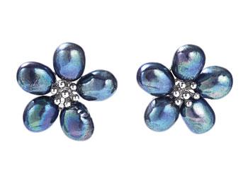 Ross Simons petal earrings