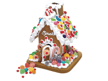 Enchanted Gingerbread house