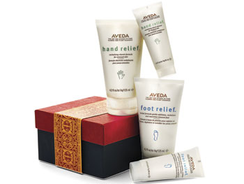 Aveda foot and hand cream