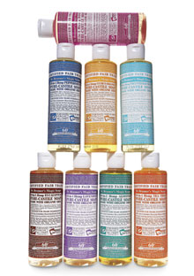 Dr. Bronner's Pure Castille Liquid Soap