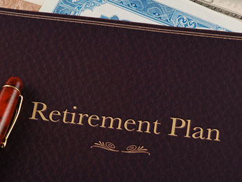 Retirement plan folder
