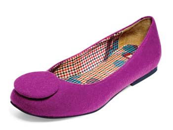 BC Footwear pink flats
