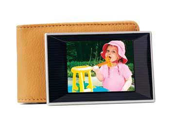 Coby wallet size digital photo album