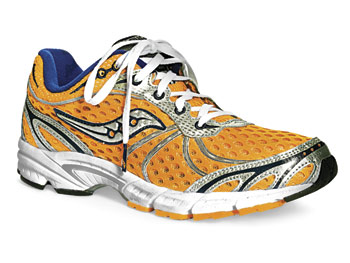 Saucony running shoe