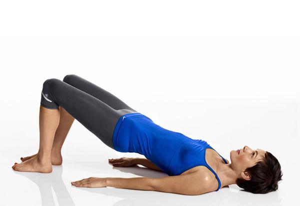 Posture exercise - bridge