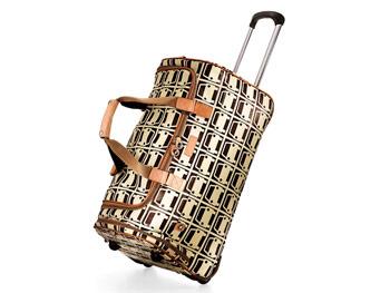 Orla Kiely suitcase