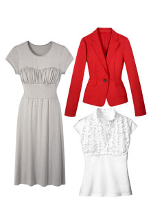 Clothes for flat-chested women