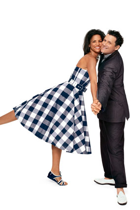 Isaac Mizrahi and Veronica Webb