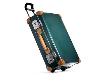 Globe-Trotter suitcase