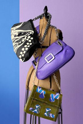 Chain strap purses