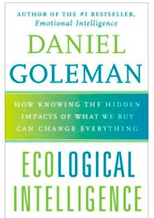 Psychologist Daniel Goleman at home