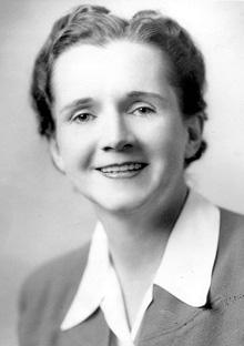Author Rachel Carson