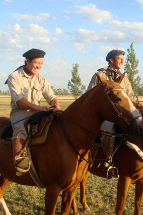 Gauchos at the Estancia el Rocio