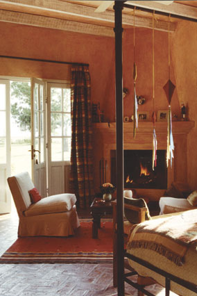 A suite at the Estancia El Rocio