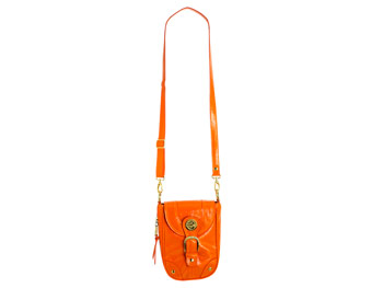Orange London Fog purse