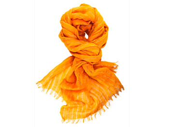 Banana Republic orange scarf