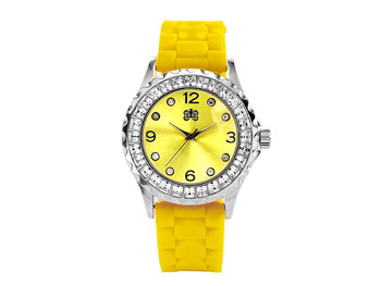 HSN Curations yellow watch