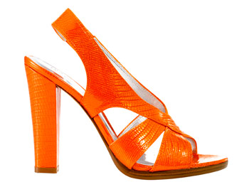 INC Orange Heels