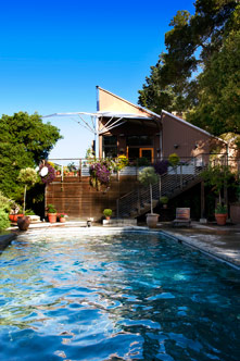 Cindy Pawlcyn's Napa Valley swimming pool