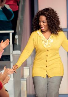 Oprah Winfrey on the Oprah Winfrey Show
