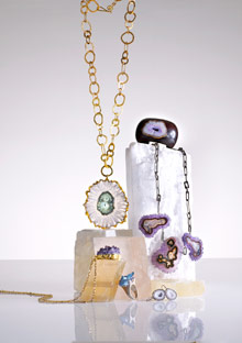 Geode jewerly