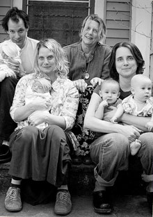 Abigail Thomas and family