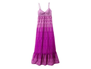 American Eagle Outfitters purple maxi dress