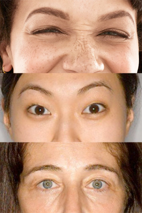 Amanda Rey eyebrow makeover