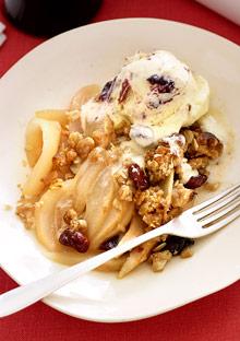 cinnamon-cherry ice cream