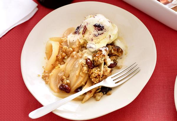 Cinnamon Cherry Ice Cream