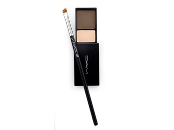 Mac Brow Shader and Angled Brow Brush