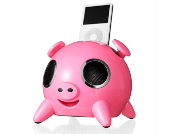 iPig's iPod Docking Station