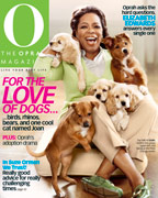 O Magazine June cover - Oprah and Sadie