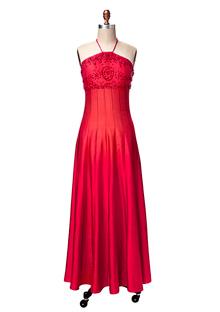 Red Ralph Lauren maxidress