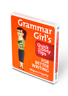 Grammar Girl's Quick and Dirty Tips for Better Writing audiobook cover