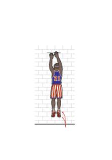 Harlem Globetrotters jump rope excercise