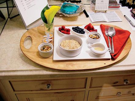 Oprah's breakfast