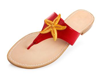 Miss Trish of Capri Starfish Sandals