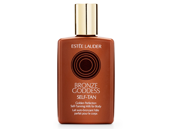 Estee Lauder Bronze Goddess Golden Perfection Self-Tanning Milk