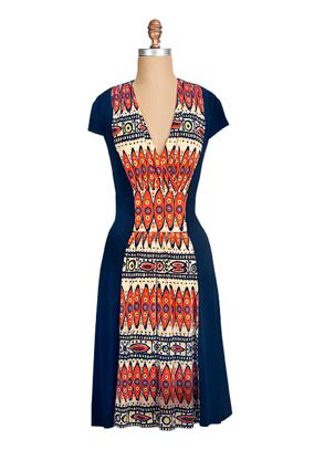 Trina Turk print dress