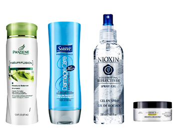 Thick summer hair products