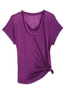 Ella Moss purple top