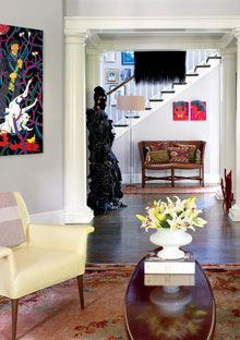 Peggy Cooper Cafritz living room