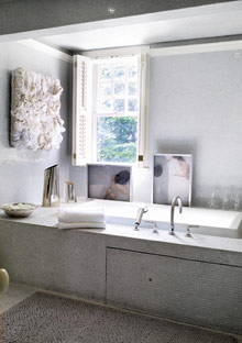 Peggy Cooper-Cafritz master bathroom